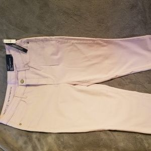 NWT Talbots Pink Jeggings